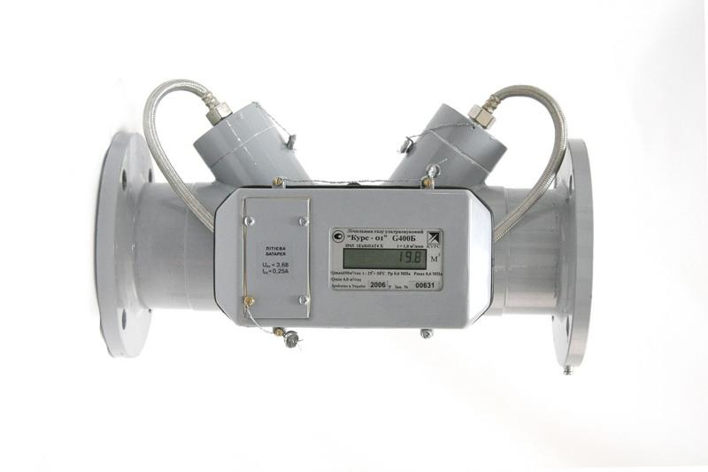 Счетчик газа ультразвуковой «Курс-01»