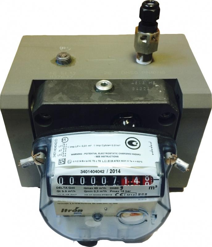 Счетчик газа DELTA (Дельта) G40 1:100